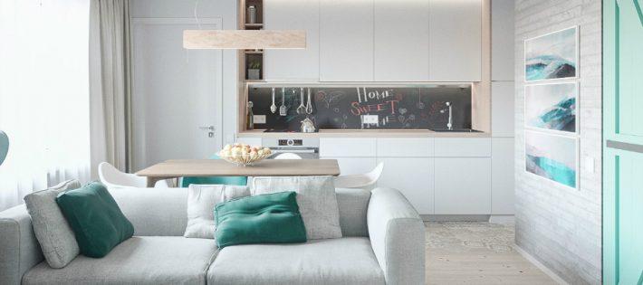Mélange de Style Scandinave et de Pastels dans un Appartement de Kiev oooo 1 710x315
