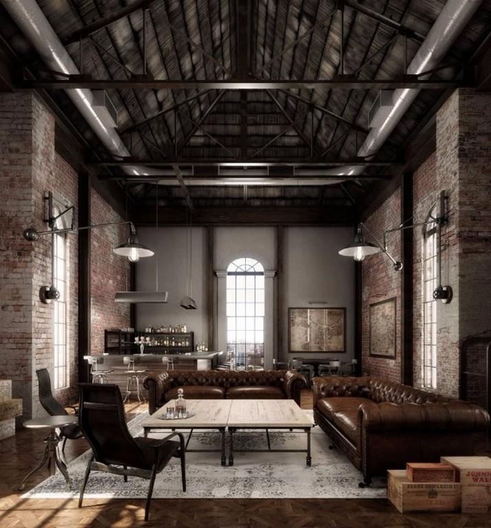Sentez-vous inspiré par ces lofts industriels de New York  Sentez-vous inspiré par ces lofts industriels de New York Sentez vous inspir   par ces lofts industriels de New York 3