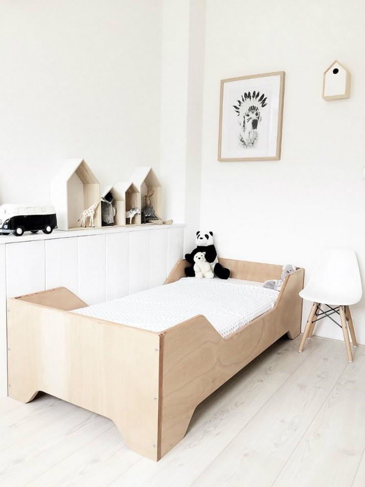 Idées de chambre d'enfants minimalistes pour vous inspirer  Idées de chambre d'enfants minimalistes pour vous inspirer Neutral Colours to Trendy Up your Kids Bedroom Decor 3