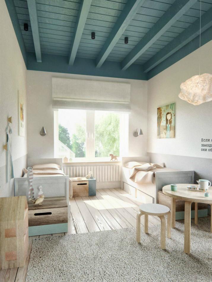 Idées de chambre d'enfants minimalistes pour vous inspirer  Idées de chambre d'enfants minimalistes pour vous inspirer Neutral Colours to Trendy Up your Kids Bedroom Decor 4