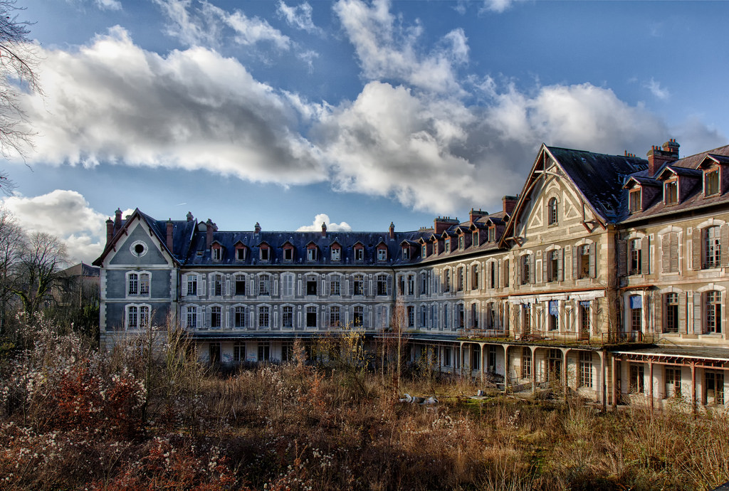 abandoned 5 Abandoned Places to Discover in France Sanatorium Delirium3