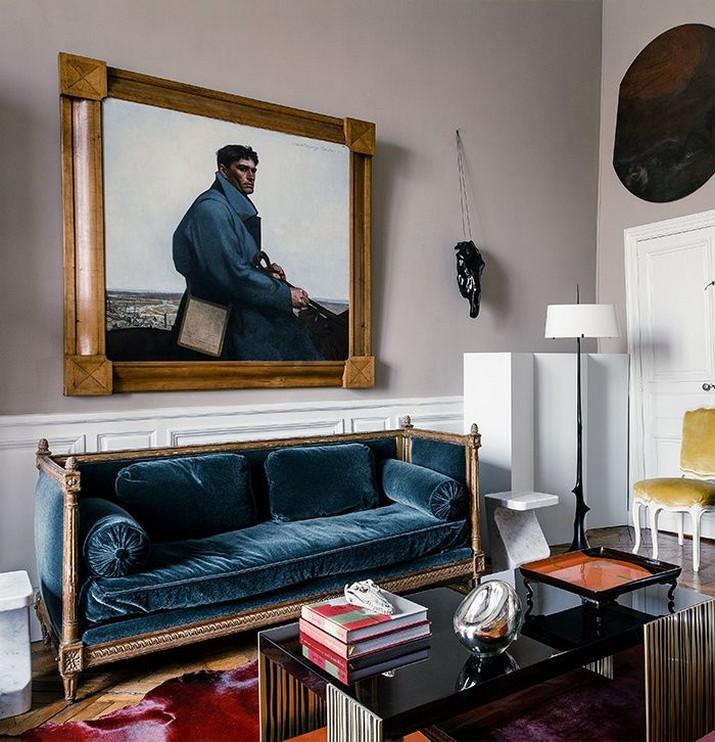 Découvrez l'Appartement Parisien d'Hervé Van der Straeten  Découvrez l'Appartement Parisien d'Hervé Van der Straeten D  couvrez lAppartement Parisien dHerv   Van der Straeten 3