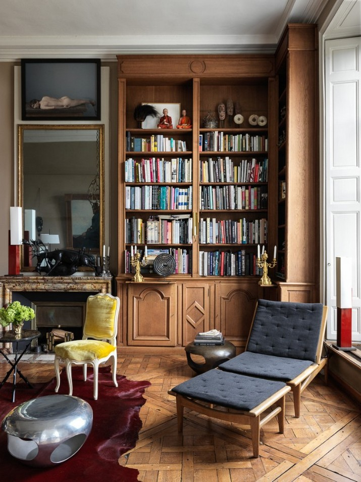 Découvrez l'Appartement Parisien d'Hervé Van der Straeten  Découvrez l'Appartement Parisien d'Hervé Van der Straeten D  couvrez lAppartement Parisien dHerv   Van der Straeten 6