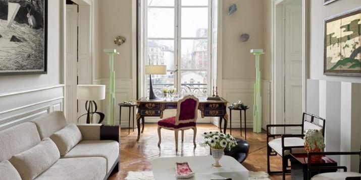 Découvrez l'Appartement Parisien d'Hervé Van der Straeten D  couvrez lAppartement Parisien dHerv   Van der Straeten 7