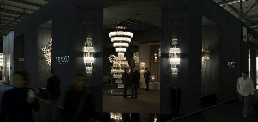 Euroluce 2019 – Luxxu Présente pour la Première fois le lustre Empire XL Euroluce 2019 Luxxu Pr  sente pour la Premi  re fois le lustre Empire XL 1 1 900x425