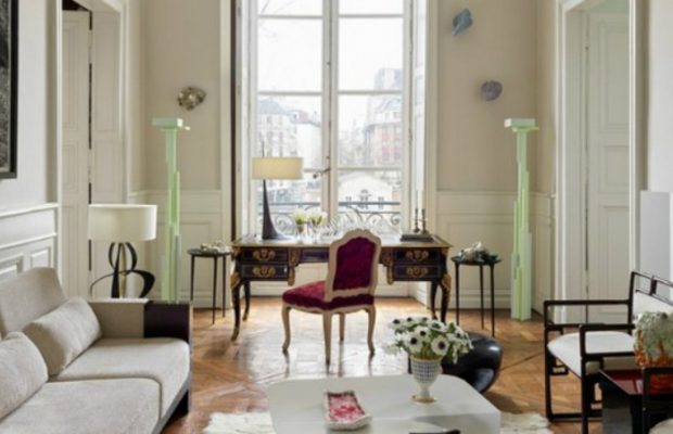 Découvrez l'Appartement Parisien d'Hervé Van der Straeten ooo 620x400