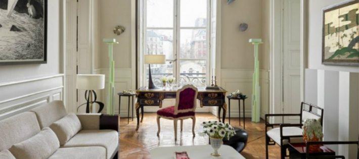 Découvrez l'Appartement Parisien d'Hervé Van der Straeten ooo 710x315