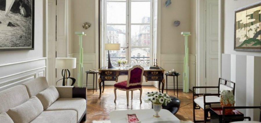 Découvrez l'Appartement Parisien d'Hervé Van der Straeten ooo 900x425