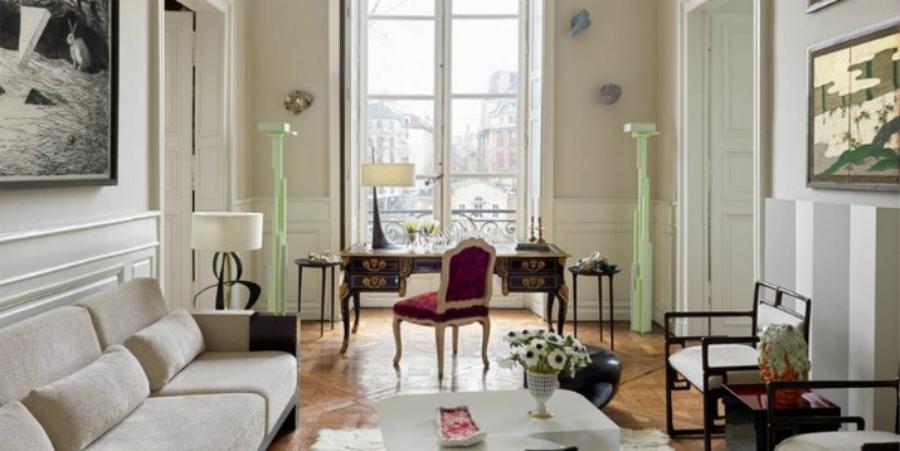 Découvrez l'Appartement Parisien d'Hervé Van der Straeten ooo