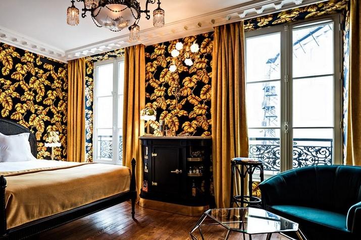 """Le décor '' Fitzgerald '' à l'hôtel Providence à Paris  Le décor """" Fitzgerald """" à l'hôtel Providence à Paris Le d  cor Fitzgerald    lh  tel Providence    Paris 1"""
