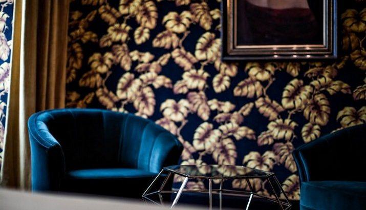 """Le décor '' Fitzgerald '' à l'hôtel Providence à Paris  Le décor """" Fitzgerald """" à l'hôtel Providence à Paris Le d  cor Fitzgerald    lh  tel Providence    Paris 4 715x410"""
