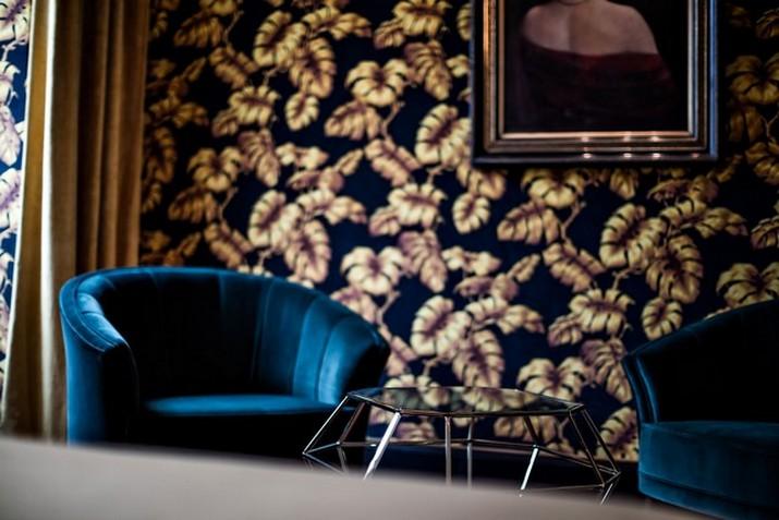 """Le décor '' Fitzgerald '' à l'hôtel Providence à Paris  Le décor """" Fitzgerald """" à l'hôtel Providence à Paris Le d  cor Fitzgerald    lh  tel Providence    Paris 4"""