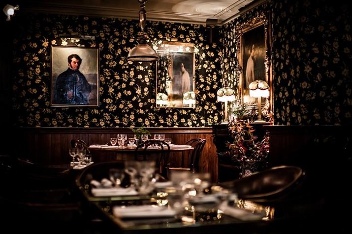 """Le décor '' Fitzgerald '' à l'hôtel Providence à Paris  Le décor """" Fitzgerald """" à l'hôtel Providence à Paris Le d  cor Fitzgerald    lh  tel Providence    Paris 6"""