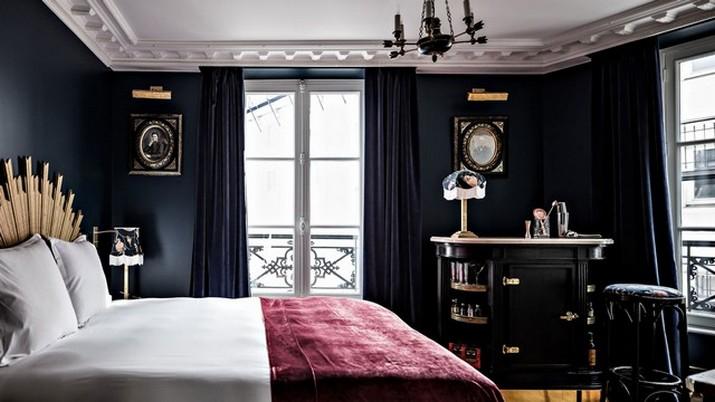 """Le décor '' Fitzgerald '' à l'hôtel Providence à Paris  Le décor """" Fitzgerald """" à l'hôtel Providence à Paris Le d  cor Fitzgerald    lh  tel Providence    Paris 7"""