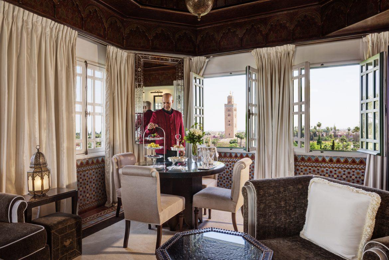 5 Palaces Maroccains où passer ses Vacances 2019 koutoubia suite