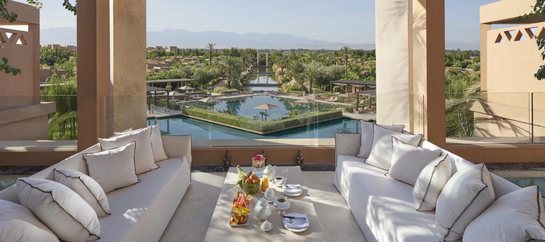 5 Palaces Maroccains où passer ses Vacances 2019 marrakech suite royal terrace